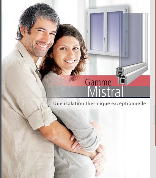 Gamme Mistral de SAVS PVC France, la Performance