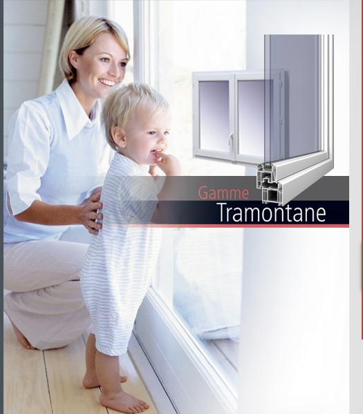 Gamme Tramontane de SAVS PVC France, la Référence